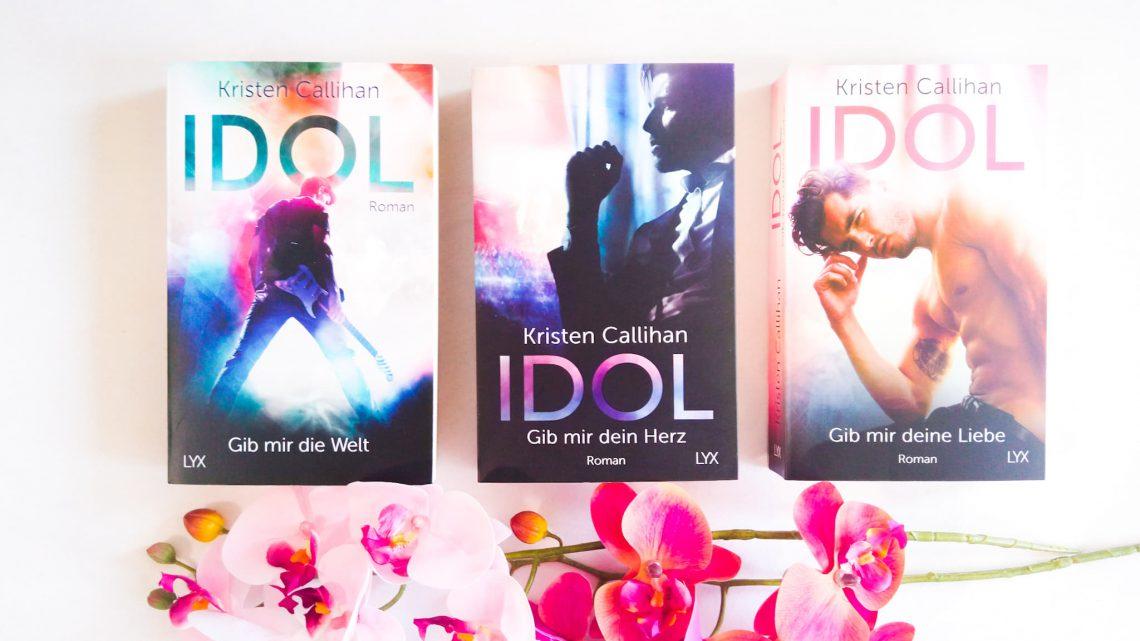 Rezension: »Idol – Gib mir deine Liebe (VIP-Reihe 3)« von Kristen Callihan