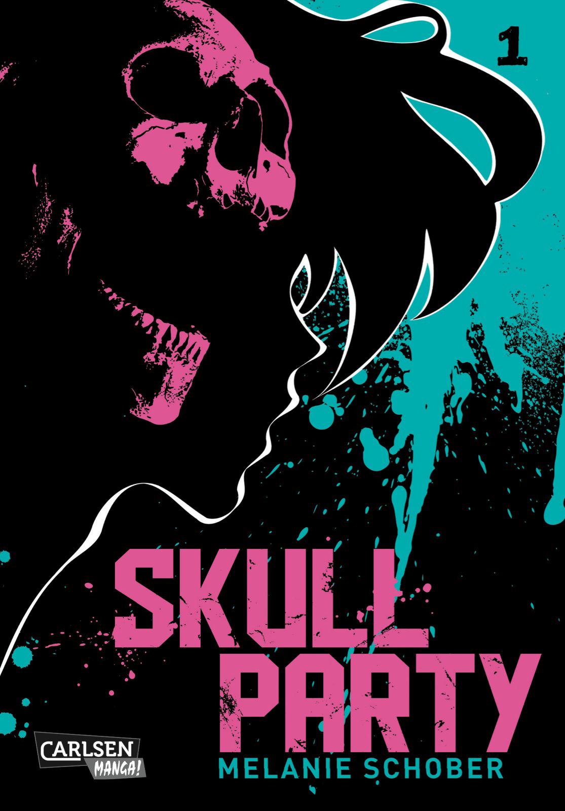 """""""Skull Party"""" von Melanie Schober"""