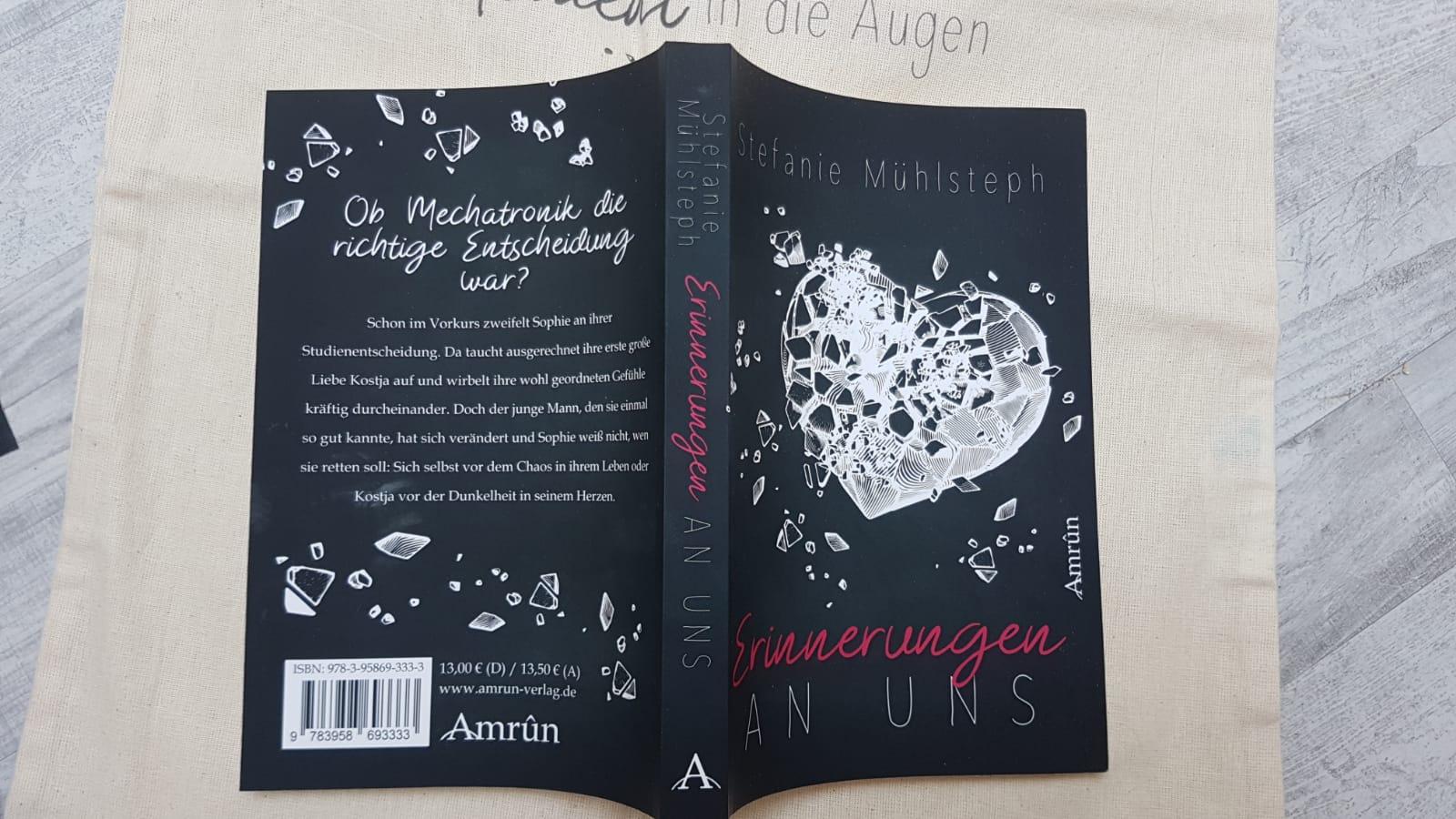 """Buchbox """"Erinnerungen an uns"""""""