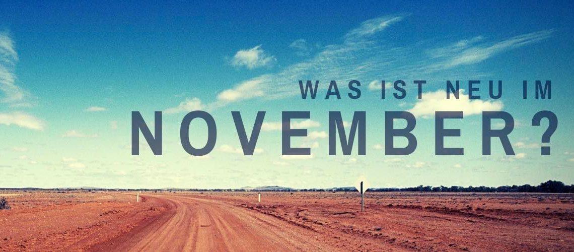 Was ist neu im November?