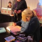 Kerstin Gier signierte vier Bücher die ich mitgebracht habe