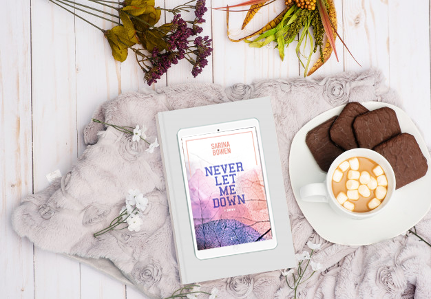 Rezension: »Never let me down« von Sarina Bowen