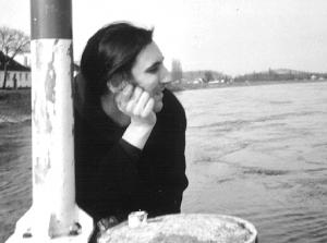 Oliver Plaschka am Rhein
